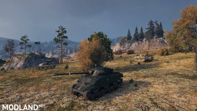 Gufo_Tave's Sherman Firefly Italian Army, early 50 1.1 [1.4.0.1], 1 photo